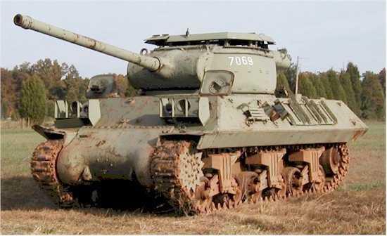 M36 Jackson tank v Lešanech. Full HD - YouTube